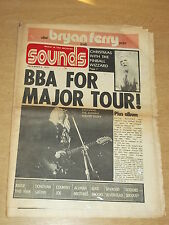 SOUNDS DECEMBER 8 1973 WIZZARD JOHNNY WINTER BECK BOGART WITH BRYAN FERRY POSTER