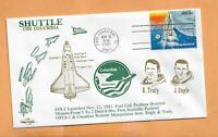 SHUTTLE USS COLUMBIA STS-2 NOV 12,1981 CAPE CANAVERAL *  ORBIT SPACE COVER