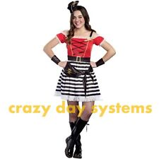 Captain Cutie Pirate Costume Size Small 5/7 Teen Girl Sassy Pirate Halloween NEW
