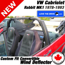 Love The Drive Convertible Wind Deflector For 78-83 VW Cabriolet Rabbit Mark1