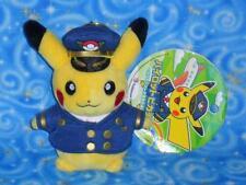 Pikachu as KIX Pilot Key Chain Plush Doll Toy Pokemon Center Japan NwTs 2014