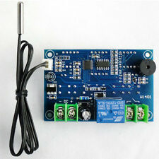 -9-99°c DC 12V digital LED display thermostat Temperature controller With Sensor