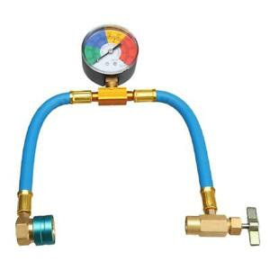 A/C Charging Hose with Manifold Gauge Coupler Kit for Car Air-conditioning Hose