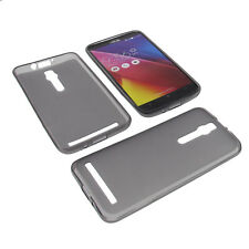 Funda para Asus Zenfone 2 5.5 Funda protectora de móvil TPU GOMA FUNDA GRIS