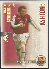 SHOOT OUT 2006-2007-WEST HAM UNITED-DEAN ASHTON-EXCELLENT PLAYER-SILVER FOIL