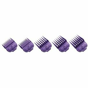 """Andis Nano-silver Magnetic Attachments 1/16"""", 1/8"""", 1/4"""", 3/8"""", 1/2"""""""