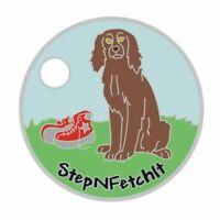 ORIGINAL BACK Pathtag #5947 Babe's Tag Geocoin Alt Pathtags Boykin Spaniel Dog