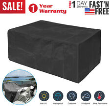 Waterproof Outdoor Patio Furniture Cover Rectangular Garden Rattan Table Cover