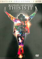 2xDVD Michael Jackson This Is It - Edition Collector