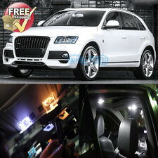 22Pcs White LED Lights Interior Package Fit Audi Q5 SQ5 2009 and 2017 Models