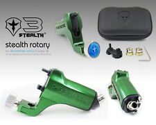 STEALTH GEN 3.0 Aluminum Rotary Tattoo Machine Liner Shader Supply Ink (GREEN)
