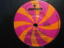 "Lindsey Buckingham (Fleetwood Mac) ""Trouble"" Hit Oz 7"""