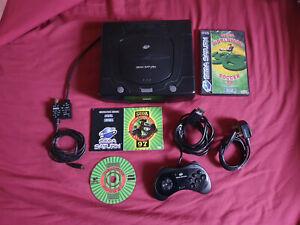 MKII Sega Saturn Console + 2 Games
