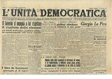 L'UNITA' DEMOCRATICA 24 MAGGIO 1946