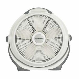 "Lasko 20"" Air Circulator Wind Machine, 3-Speed Fan, Model A20301, Gray"