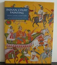 Indian Court Painting 16th-19th Century 1997 Kossak 83 Color Reproductions