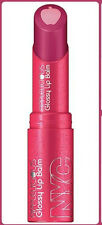 NEW YORK COLOR GLOSSY LIP BALM APPLELICIOUS NYC  357 Apple Blueberry Pie