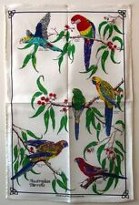 Tea Towel -  Australian Parrots - 100% Cotton