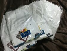 (pack of 5) Bisley Work Overalls White Painter Size 117s RRP$45 Each Action Back