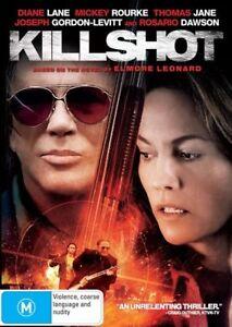 Killshot DVD Kill Shot 2008 Mickey Rourke Crime Movie - SAME / NEXT DAY POSTAGE