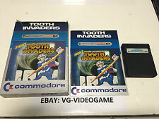 FIGHT TOOTH INVADERS CARTUCCIA  COMMODORE 64