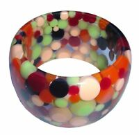 SOBRAL polka dots party mix wide 5 cm cuff