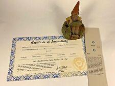 Russ 1991 Tom Clark Gnome Signed Figurine 5158 Coa & Story 25