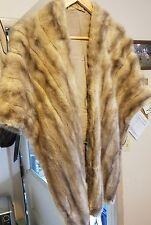 Vintage Lord Taylor Fur Shawl! Stunning!