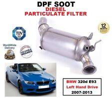 DPF Diesel Filtro de partículas de hollín para BMW 320d E93 unidad de mano izquierda 2007-2013