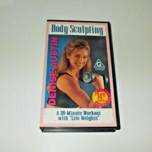 Denise Austin Body Sculpting VHS Pal Aerobics