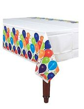 Amscan Balloon & Stars Party Celebration Plastic Table Cover