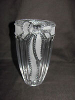 Merci Cherie Collection by Studio Silversmiths Germany 24% Lead Crystal Vase