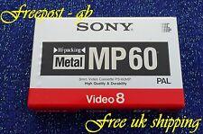 SONY P5-60MP 8mm/Hi8 metallo delle particelle Videocamera Nastro/Cassette-alta qualità