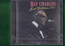 RAY CHARLES - JUST BETWEEN US CD NUOVO SIGILLATO