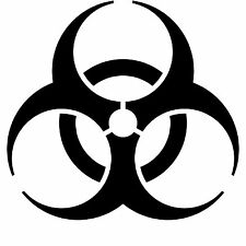 Biohazard Car Decal Vinyl Sticker