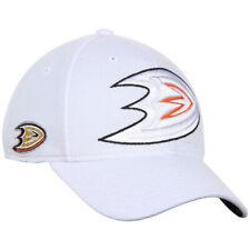Anaheim Ducks NHL Reebok Center Ice Hat Cap White Second Season Flex Fit L/XL