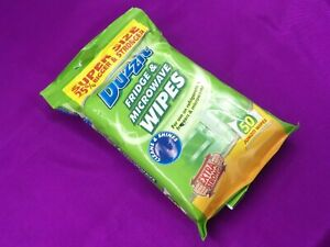 Duzzit Pack Of 50 Fridge and Microwave Extra Strong Jumbo Wipes