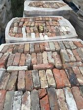 Reclaimed Victorian Imperial London Dark Red Stock Bricks. 5,000+ Available