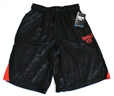 TapOut Grit and Grind Black & Red Athletic Shorts Men's Nwt