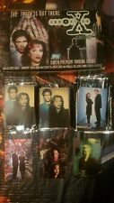 The X Files. Series 1 Topps Trading Card Lot. 2 X Base Sets.Foil,etched,chromium