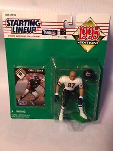 1995 Kenner Starting Lineup CHRIS ZORICH Chicago Bears