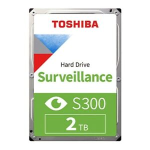 HARD DRIVE CCTV SURVEILLANCE 2TB TOSHIBA S300,  New (No Retail Packing)