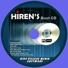 HIRENS BOOT UTILITY PC/CD FORMAT PARTITION FILE RECOVERY SECURITY FIREWALLS  NEW