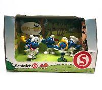 Smurf Decade Set 1970-1979 Playset Action Figures SCHLEICH Peyo Creations 41256