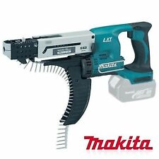 """Makita Cordless Charged Autofeed Screwdriver Dfr550z Body Only 18v 13mm 1/2"""" VG"""