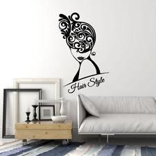 Vinyl Wall Decal Hair Salon Woman Style Beauty Stylist Stickers Mural (ig1711)