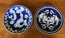 "Royal Doulton Mother's Day Plates x 2 1976/77 Vgc Little Mermaid & Boats 6"" dia"