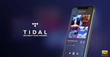 Tidal HIFI 30 Days Premium | Warranty | Personal Account |Worldwide