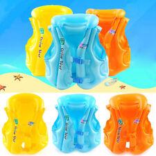 Inflatable Kids/Child Swimming Vest Floating Safe Jacket for Learning UK Seller