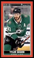 2020-21 O-Pee-Chee OPC Mini Tallboys Red Border P-14 Tyler Seguin Dallas Stars